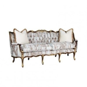 DIANA SOFA 3 SEATER PARTIAL GOLD