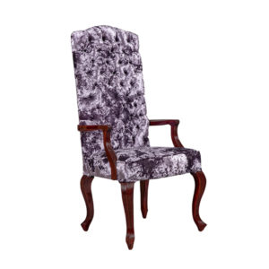 REEDED FULLY UPHOLSTERED CARVER 2 MT PER CHAIR