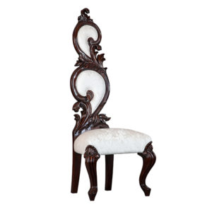 CHAPEL CHAIR MAHOGANY FABRIC 2 MT PER CHAIR
