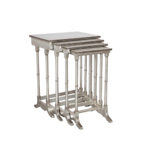 NEST OF TABLES SILVER