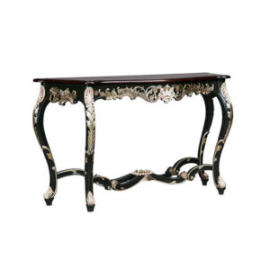 FRENCH LOUIS CONSOLE PARTIAL SILVER