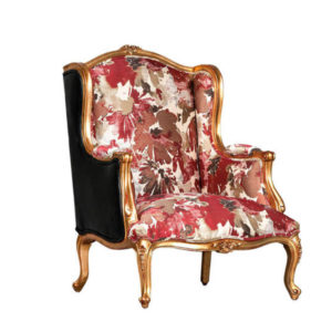 FAT BOY ARM CHAIR EXCL5 MT FABRIC AND CHORD GOLD
