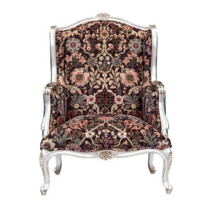 FAT BOY ARM CHAIR EXCL5 MT FABRIC AND CHORD SILVER