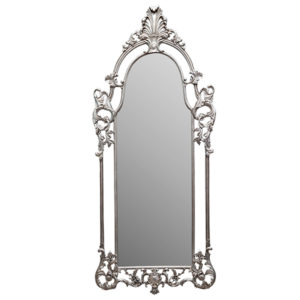 CHARLES DECORATIVE MIRROR SILVER