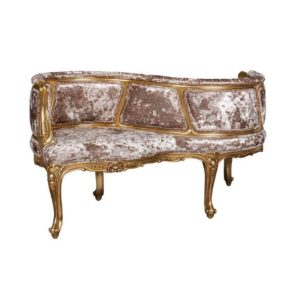SANNIE CHAISE 3MTS FABRIC GOLD