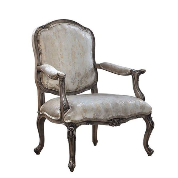 CHANELLE LOUNGE CHAIR ANTIQUE CREAM