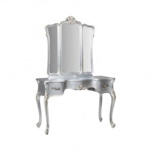 Cassandra Dressing Table Silver