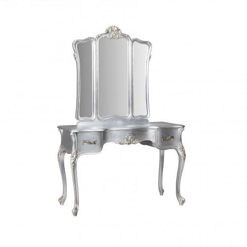 Cassandra Dressing Table Silver