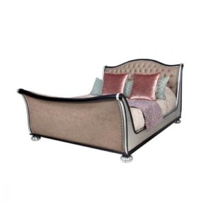 Safari Bed Extra Length Silver
