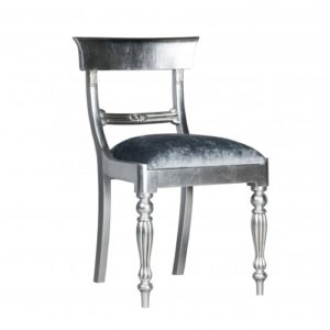 BAR BACK FULLY SILVER LEAF CARVER STANDARD EXCL 0.8 MT PER CHAIR
