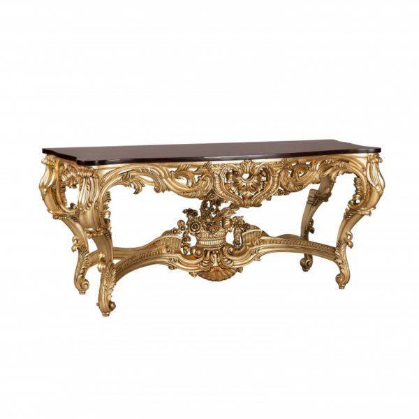 William Carved Console Gold