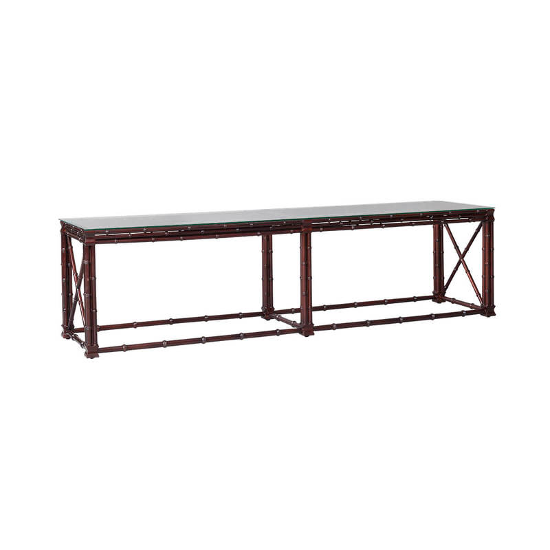 Long Bamboo Coffee Table: BAMBOO COFFEE TABLE LONG 1800L