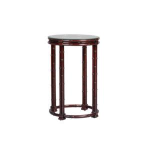 Bamboo Circular Lamp Table