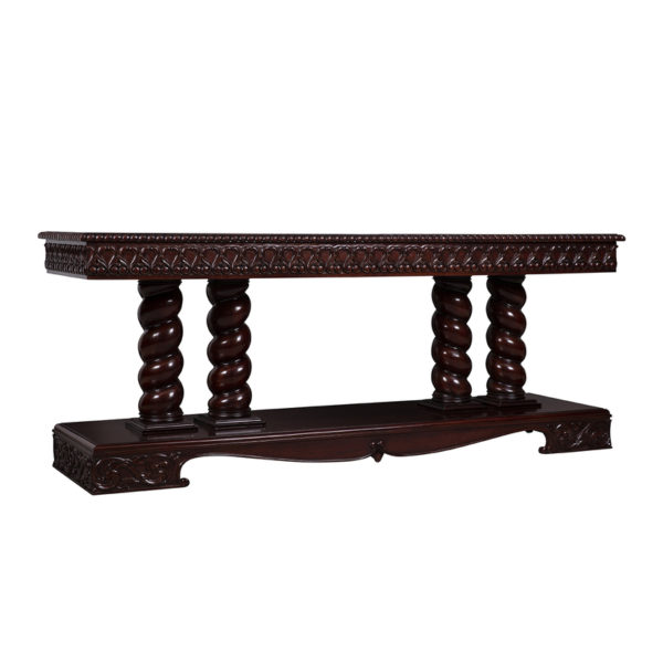 George Double Console Mahogany