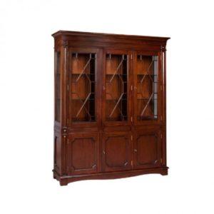 LLEWELYN 3 DOOR BOOKCASE