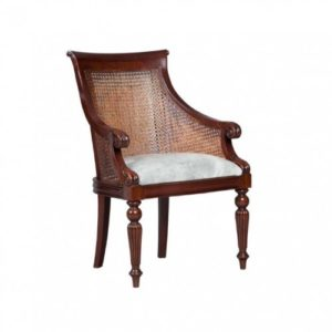 WILLIAM CANED ARM CHAIR