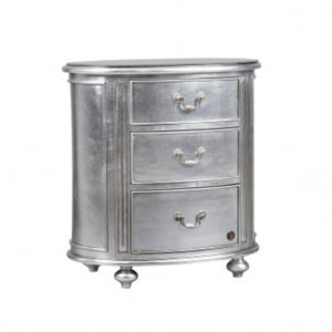 Oval Pedestal Silver