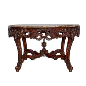 OLIVIA OCTAGONAL TABLE INCULDING MARBLE TOP