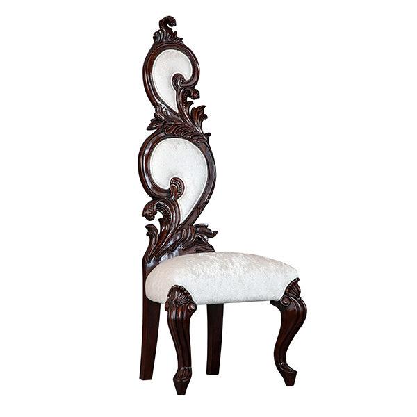 Chapel Chair Mahogany Fabric 2 Mt Per Chair