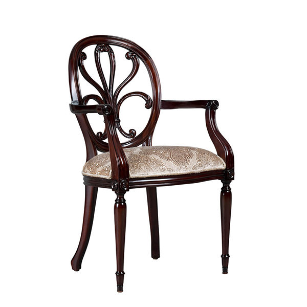 Hepplewhite Carver Fabric 0.8 Mt Per Chair