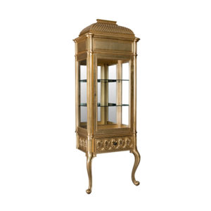 Display Cabinet On 2 Scroll Legs