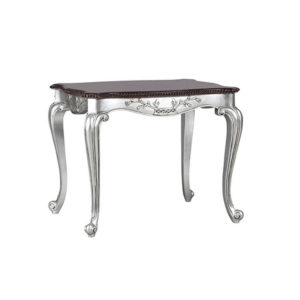 FRENCH LAMP TABLE SILVER