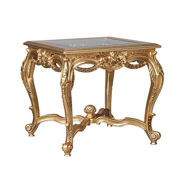 Kuwait Lamp Table Gold