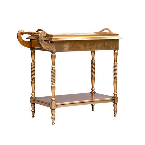 Tea Trolley Gold