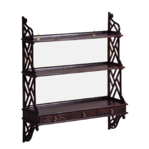 Chippendale 3 Drawer Hanging Shelf