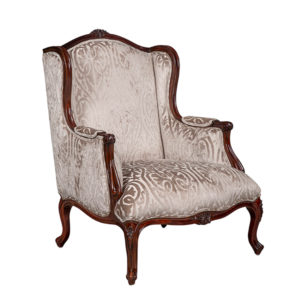 FAT BOY ARM CHAIR EXCL5 MT FABRIC AND CHORD MAHOGANY