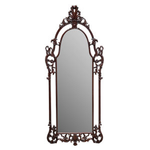 Charles Decorative Mirror Mahogany
