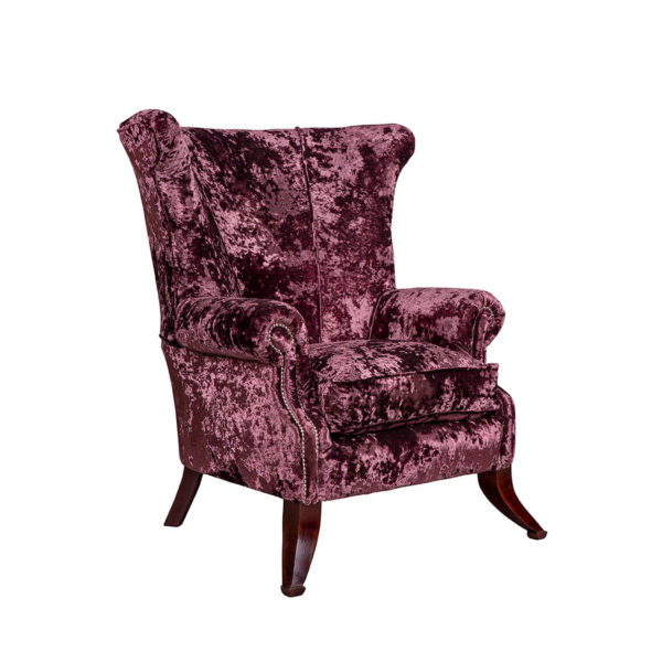 Collins Wingback Chair 6mts Fabric