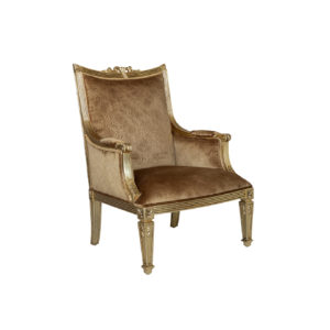 HAMILTON OCCASIONAL CHAIR FULL GOLD