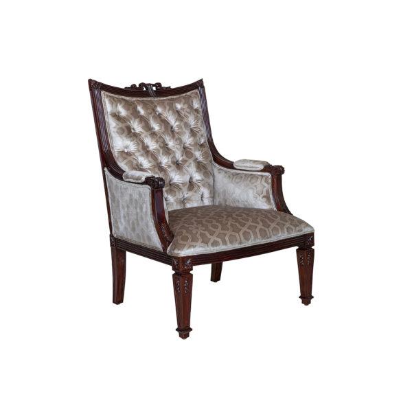 Hamilton Occasional Chair Mahogany