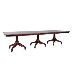 Regency 3 Pedestal Dining Table