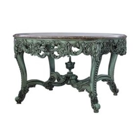 Olivia Octagonal Table Including Marble Top